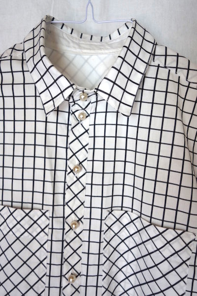 Vintage-Button-Knopf-Shirt-Grainline-Acher-Button up