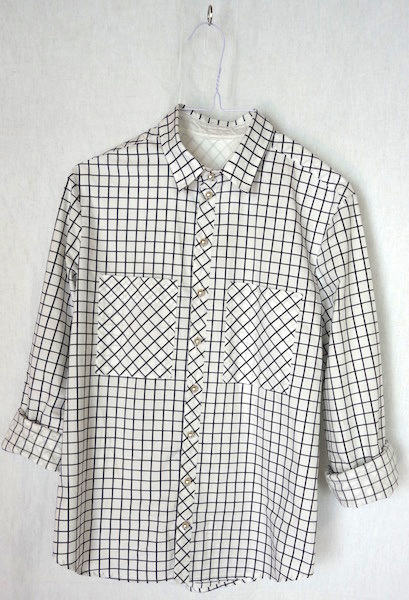 GrainlineArcher-Button up- Shirt-Checked-kariert