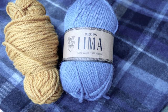 Drops Lima Wolle für Schal