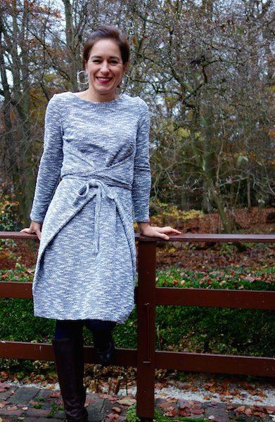 Mein neues Lieblings-Kalte-Jahreszeit-Kleid: Das Kielo Wrap Dress von Named Clothing