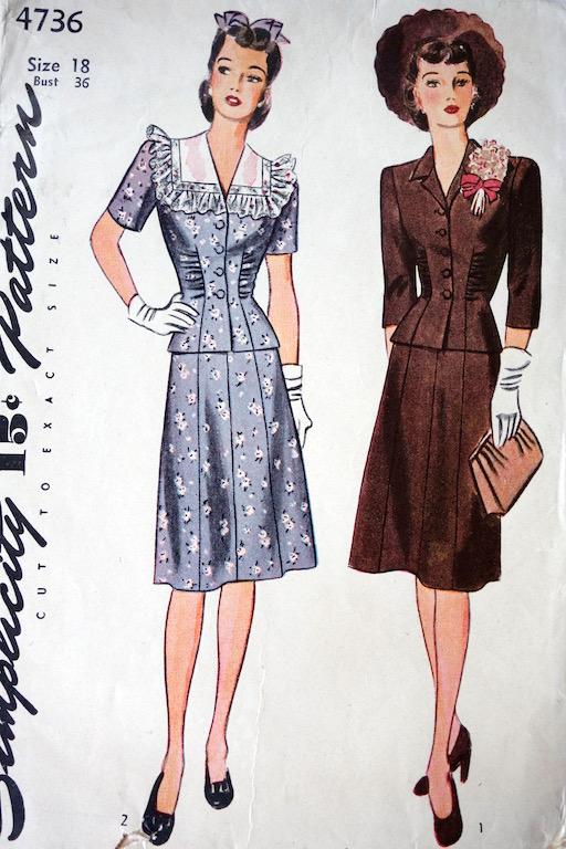 Simplicity 4736 Vintage Pattern