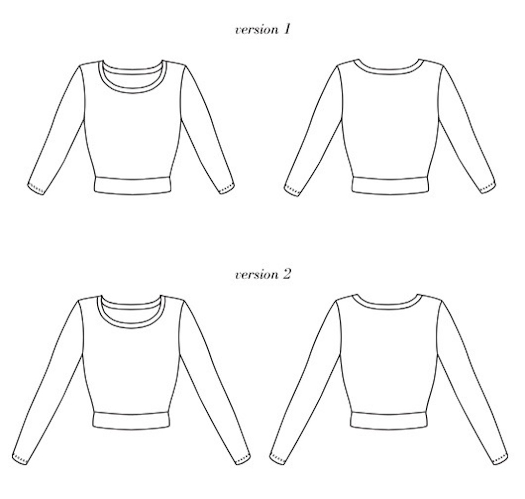 Sweater Astoria Seamwork Colette