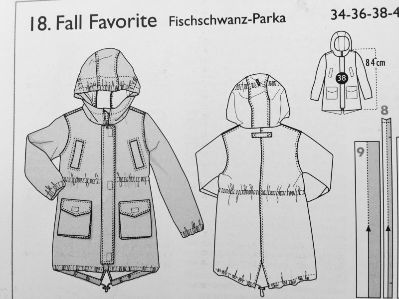 Parka Ottobre Fall Favorite