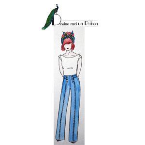 Zeichnung Pantalon Embrun