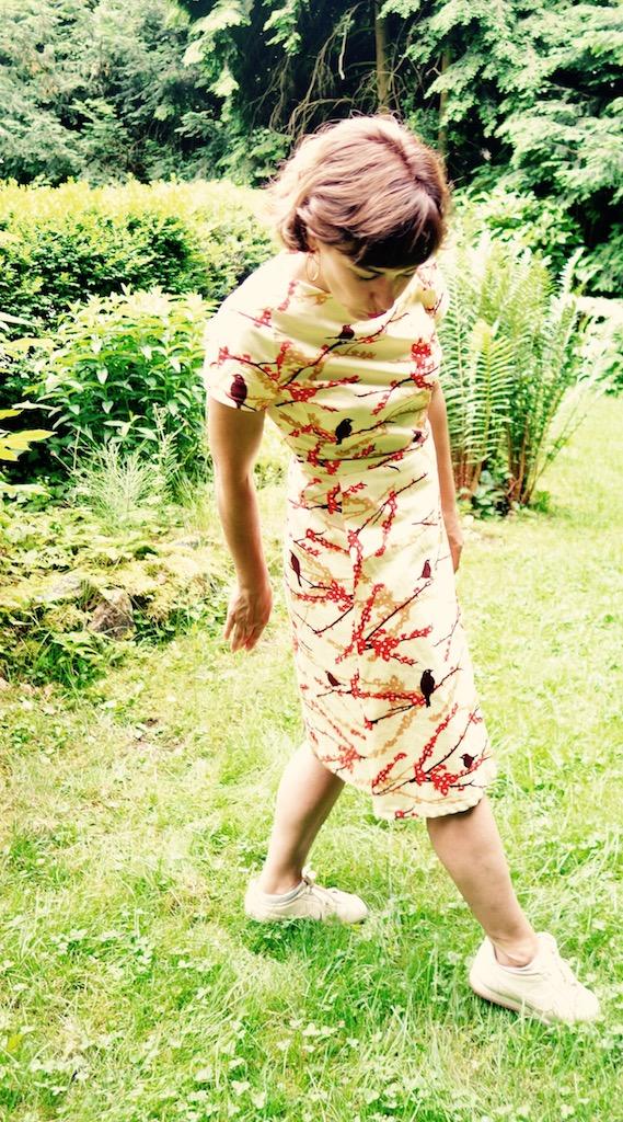Kleid 101 aus der BurdaStyle 2/2014