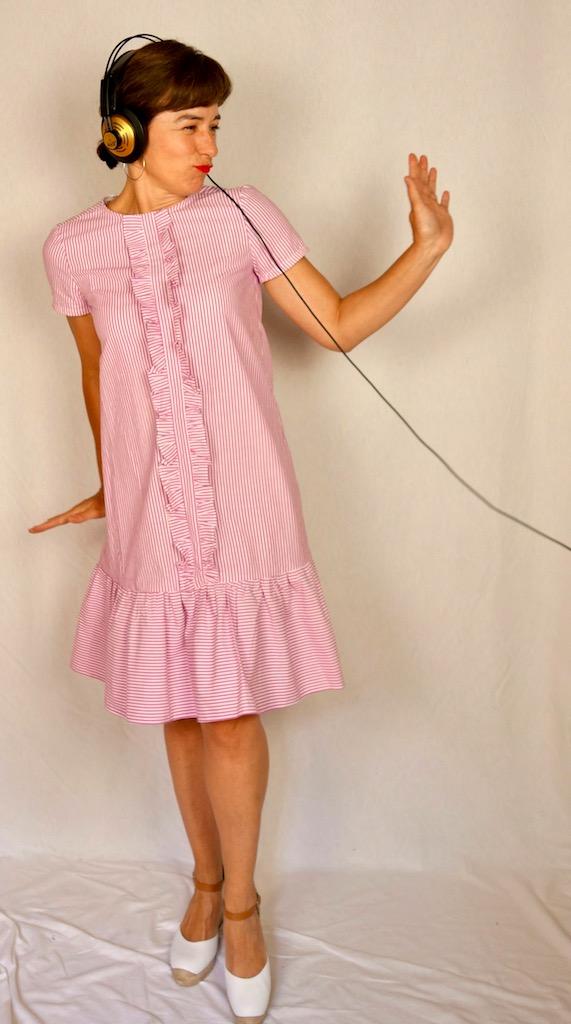 Schnäppchen für Mode Großhandel online Shop Rüschen - und ich. (Kleid BurdaStyle 6/2017) - Die fesche Lola