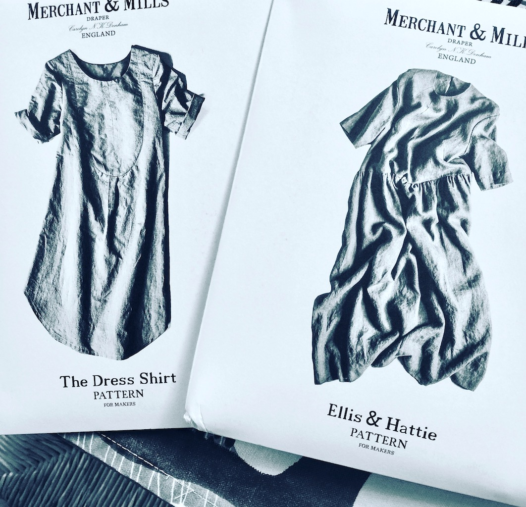 """The Dress Shirt""- & ""Ellis & Hattie""-Schnittmuster von Merchant & Mills"