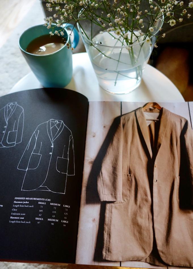 Blick ins Merchant & Mills Workbook / Haremere Coat