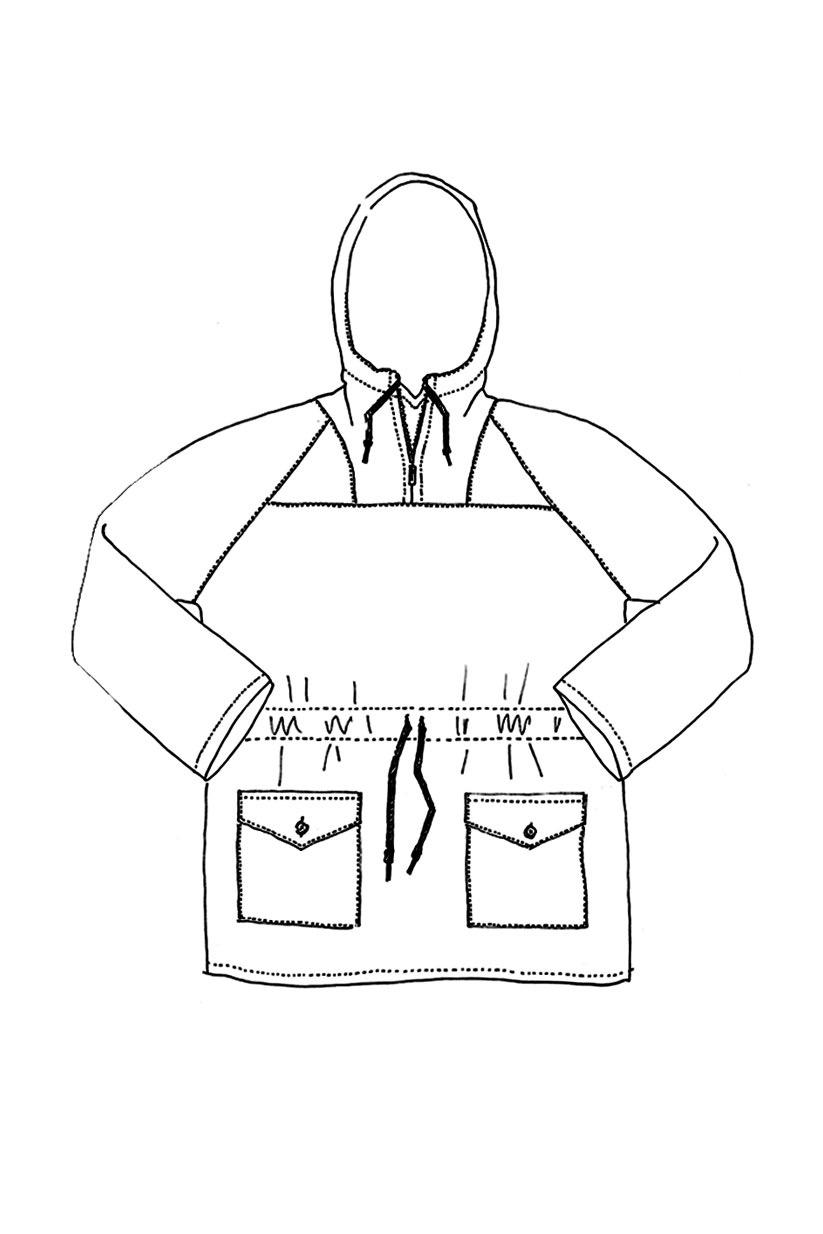 Landgate Jacket Front, Quelle: www.merchantandmills.com