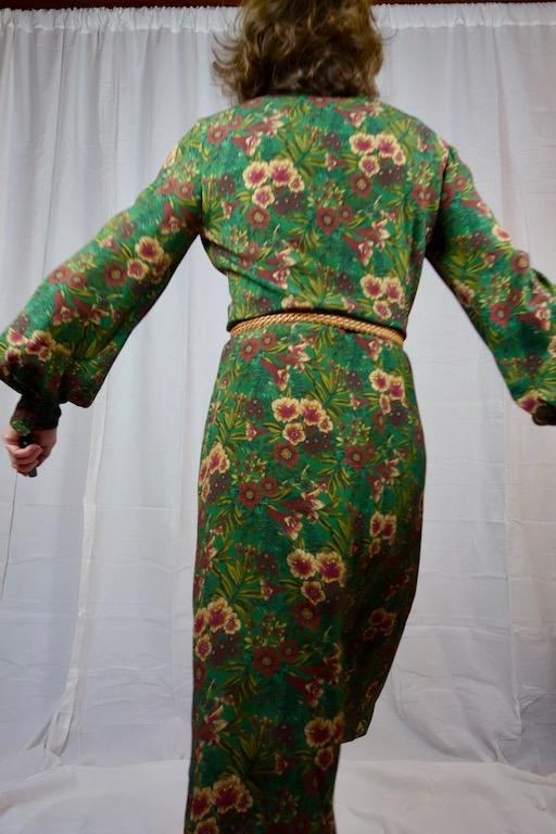 Rückansicht Kleid Burda Oktober 2018