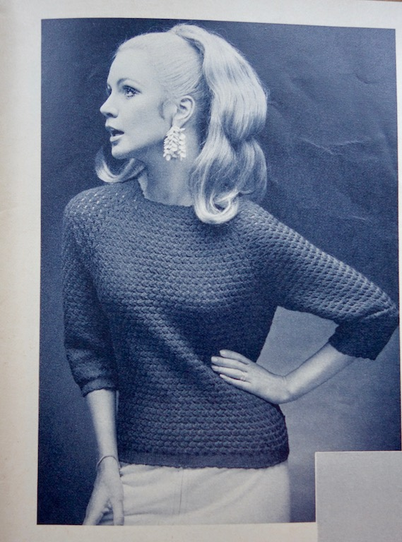 Pullover von 1968 Anleitung aus Passap Modellheft 7