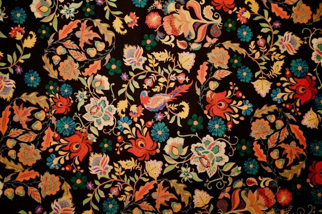 Stoff für Kleid Pola Fibre Mood